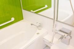 爽やかなお風呂と洗面スペースに!