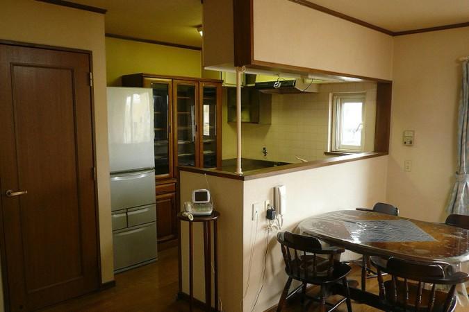 アカルイミライ~キッチンと食卓が開放的に明るく